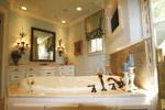 Arts & Crafts House Plan Master Bathroom Photo 06 - Briley Southern Craftsman Home 024S-0025 | House Plans and More