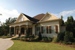 Arts & Crafts House Plan Side View Photo 01 - Briley Southern Craftsman Home 024S-0025 | House Plans and More
