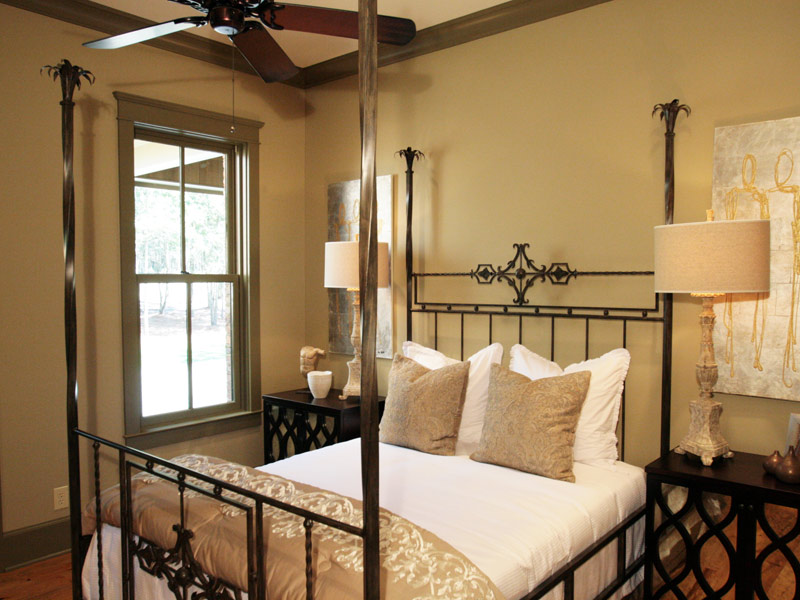 Luxury House Plan Bedroom Photo 02 - Dickerson Creek Rustic Home 024S-0026 | House Plans and More