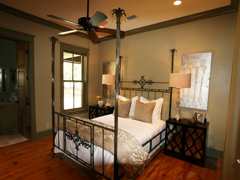 Luxury House Plan Bedroom Photo 03 - Dickerson Creek Rustic Home 024S-0026 | House Plans and More