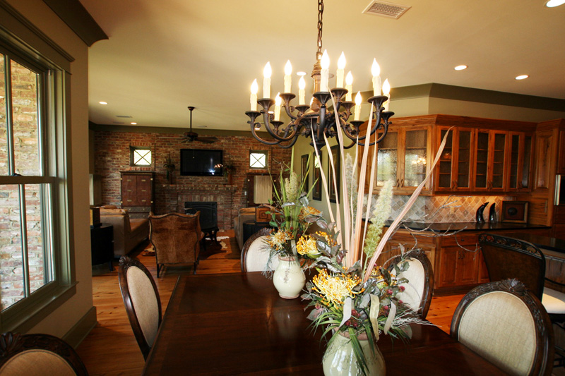 Luxury House Plan Breakfast Room Photo 01 - Dickerson Creek Rustic Home 024S-0026 | House Plans and More