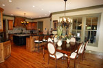 Luxury House Plan Breakfast Room Photo 02 - Dickerson Creek Rustic Home 024S-0026 | House Plans and More