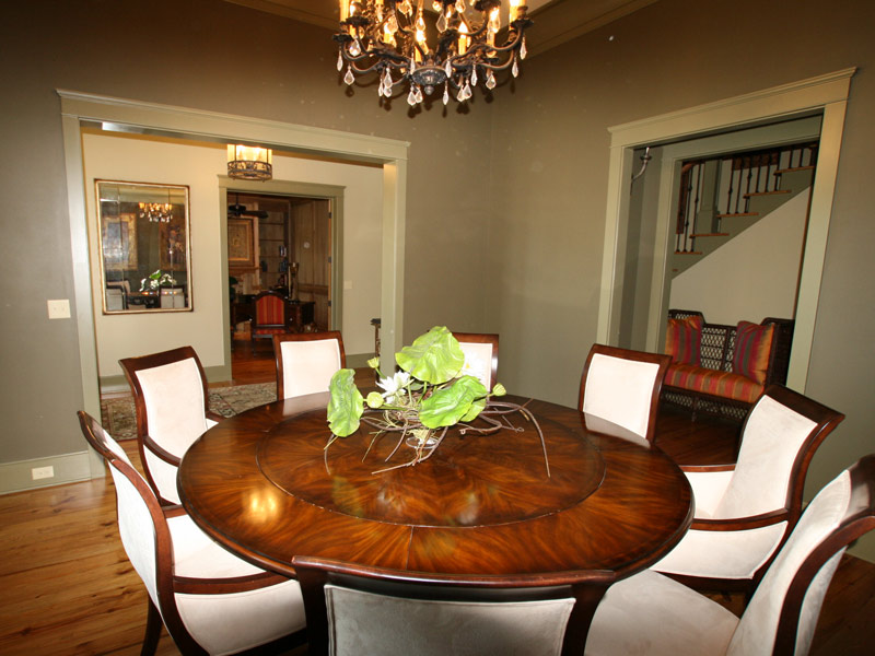 Luxury House Plan Dining Room Photo 02 - Dickerson Creek Rustic Home 024S-0026 | House Plans and More