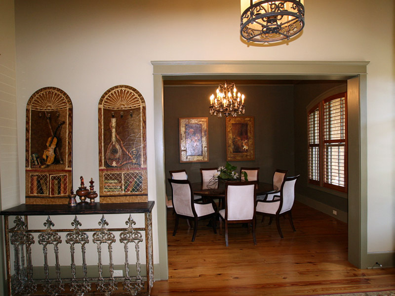 Luxury House Plan Dining Room Photo 03 - Dickerson Creek Rustic Home 024S-0026 | House Plans and More