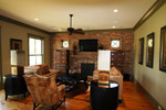 Luxury House Plan Fireplace Photo 01 - Dickerson Creek Rustic Home 024S-0026 | House Plans and More