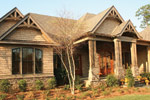 Luxury House Plan Front Photo 01 - Dickerson Creek Rustic Home 024S-0026 | House Plans and More