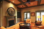 Luxury House Plan Great Room Photo 02 - Dickerson Creek Rustic Home 024S-0026 | House Plans and More