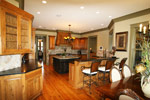 Luxury House Plan Kitchen Photo 01 - Dickerson Creek Rustic Home 024S-0026 | House Plans and More