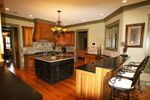 Luxury House Plan Kitchen Photo 03 - Dickerson Creek Rustic Home 024S-0026 | House Plans and More