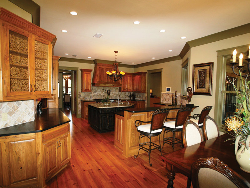 Luxury House Plan Kitchen Photo 06 - Dickerson Creek Rustic Home 024S-0026 | House Plans and More