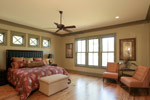 Luxury House Plan Master Bedroom Photo 03 - Dickerson Creek Rustic Home 024S-0026 | House Plans and More