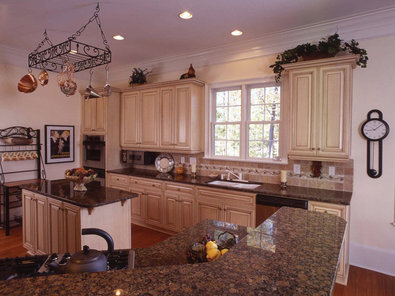 Beach & Coastal House Plan Kitchen Photo 04 - Highcroft Manor Luxury Home 024S-0037 | House Plans and More