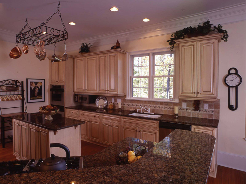 Colonial House Plan Kitchen Photo 08 - Highcroft Manor Luxury Home 024S-0037 | House Plans and More