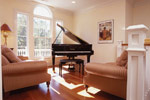 Colonial House Plan Music Room Photo 01 - Highcroft Manor Luxury Home 024S-0037 | House Plans and More