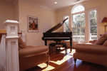 Colonial House Plan Music Room Photo 02 - Highcroft Manor Luxury Home 024S-0037 | House Plans and More