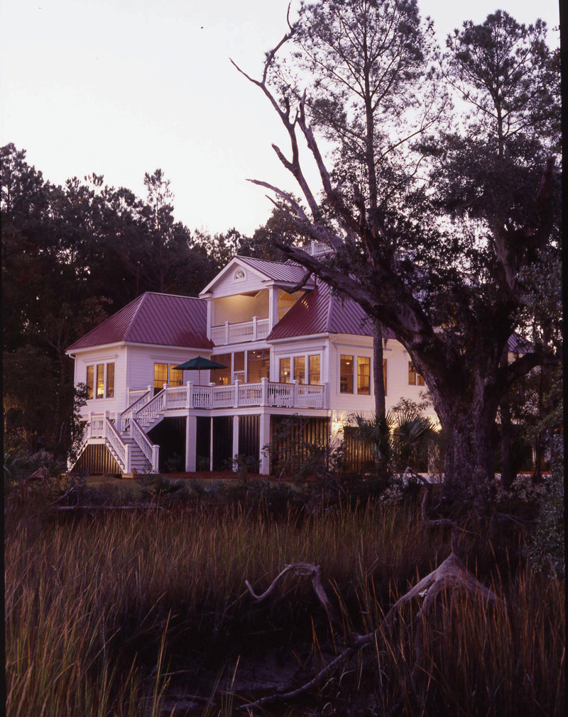 Beach & Coastal House Plan Rear Photo 01 - Highcroft Manor Luxury Home 024S-0037 | House Plans and More