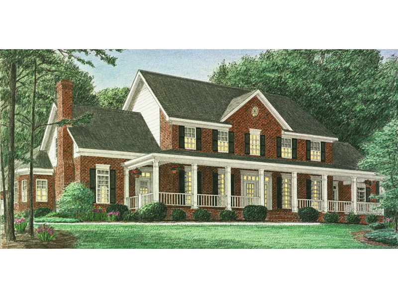 Hindmann Southern Farmhouse Plan 025d 0059 House Plans And More