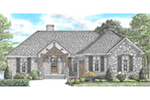 Arts & Crafts House Plan Front of Home -  025D-0107 | House Plans and More