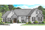 Traditional House Plan Front of Home -  025D-0108 | House Plans and More