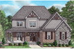 Shingle House Plan Front of Home -  025D-0111 | House Plans and More