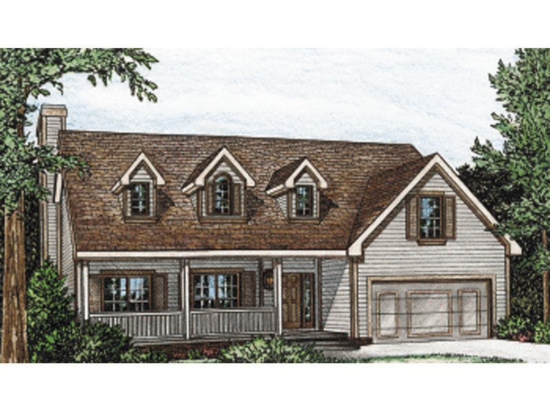 Alvaton Ranch Bungalow Home Plan 026D-1797 | House Plans and ... on