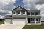 Arts & Crafts House Plan Front of Home -  026D-1850 | House Plans and More