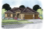 Greek Revival House Plan Front Image - Spencer Trail Prairie Home 026D-1862 | House Plans and More