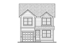 Traditional House Plan Front of Home -  026D-1863 | House Plans and More