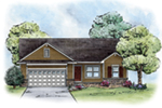 Traditional House Plan Front Image -  026D-1868 | House Plans and More