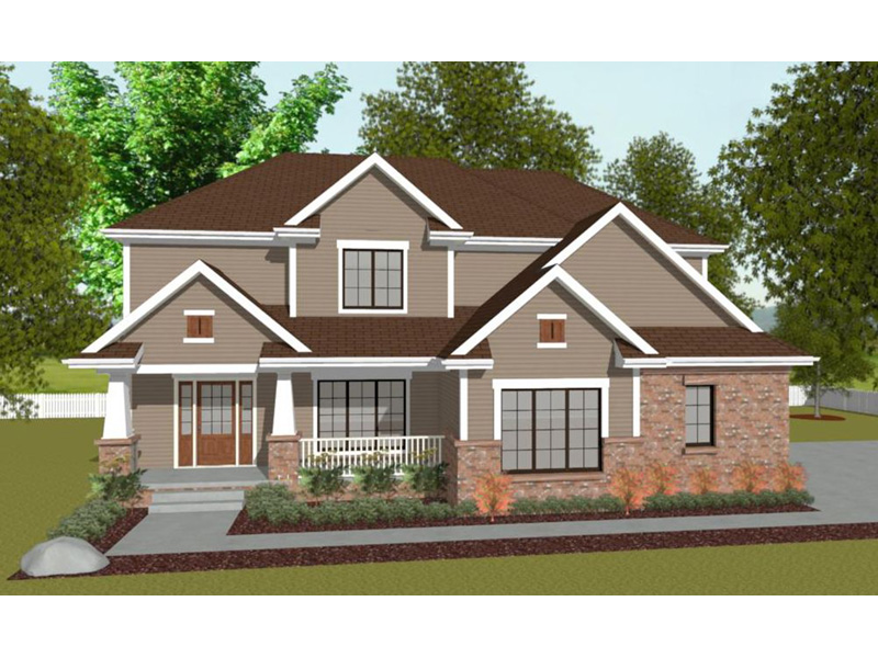 Bungalow House Plan Front Image - Warden Neoclassical Home 026D-1870 | House Plans and More