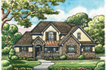 Traditional House Plan Front Image - Mosley Forest Traditional Home 026D-1872 | House Plans and More