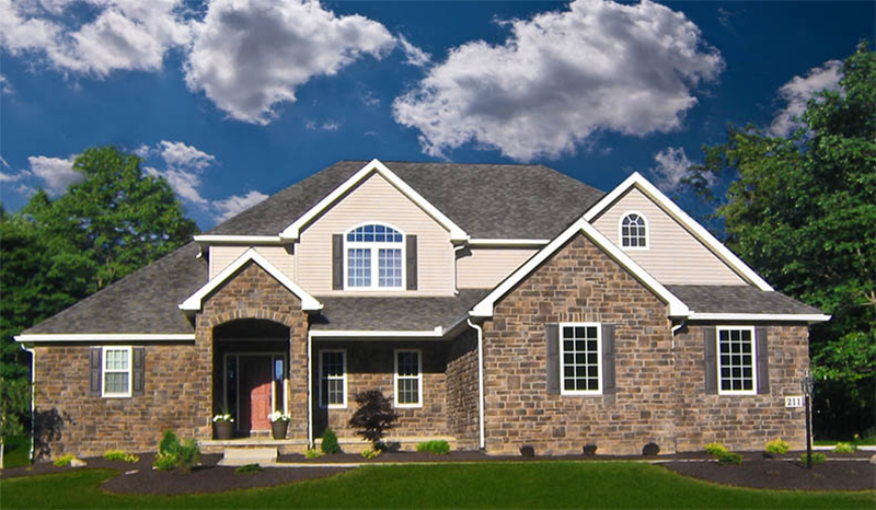 Traditional House Plan Front of Home - Mosley Forest Traditional Home 026D-1872 | House Plans and More