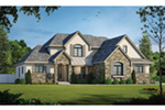Traditional House Plan Front Photo 01 - Mosley Forest Traditional Home 026D-1872 | House Plans and More