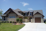 Country French House Plan Front of Home - Dornewood Rustic Prairie Home 026D-1885 | House Plans and More