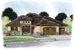Ranch House Plan Front Image - Jessica Creek Prairie Home 026D-1894 | House Plans and More