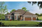 Ranch House Plan Front Photo 01 - Jessica Creek Prairie Home 026D-1894 | House Plans and More