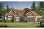 Shingle House Plan Front of Home -  026D-1895 | House Plans and More