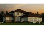 Traditional House Plan Front of Home -  026D-1896 | House Plans and More