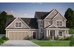 Rustic Home Plan Front of Home - Koberg Craftsman Home 026D-1901 | House Plans and More