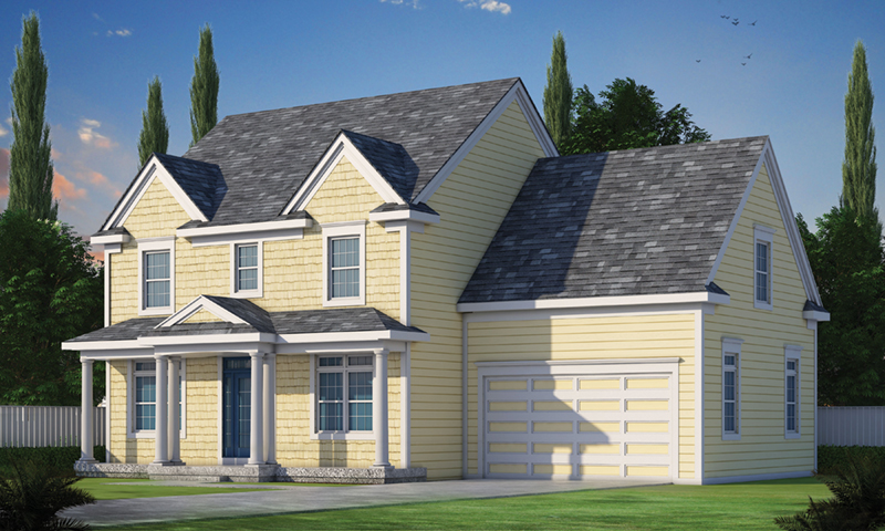 Farmhouse Plan Front of Home -  026D-1903 | House Plans and More