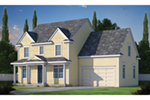 Country House Plan Front of House 026D-1903