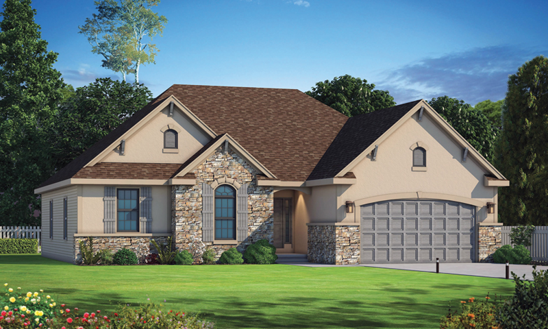 Craftsman House Plan Front of Home - Crows Creek Ranch Home 026D-1910 | House Plans and More