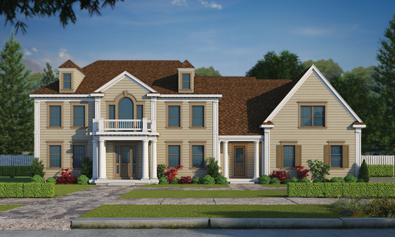Luxury House Plan Front of Home -  026D-1916 | House Plans and More