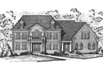 Luxury House Plan Front Image of House -  026D-1916 | House Plans and More