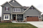 Craftsman House Plan Front of Home - Cassidy Downs Craftsman Home 026D-1919 | House Plans and More