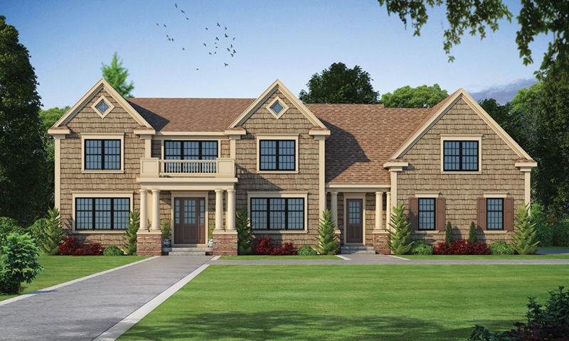 Cape Cod & New England House Plan Front of Home -  026D-1926   House Plans and More
