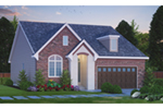 Traditional House Plan Front of Home - Carsyn Traditional Ranch Home 026D-1937 | House Plans and More