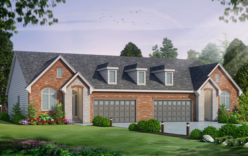 European House Plan Front of Home -  026D-1963 | House Plans and More