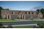 Multi-Family House Plan Front of Home -  026D-1964 | House Plans and More