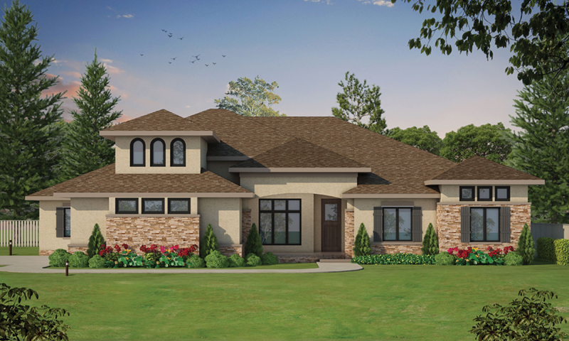 European House Plan Front of Home - 026D-2060 | House Plans and More